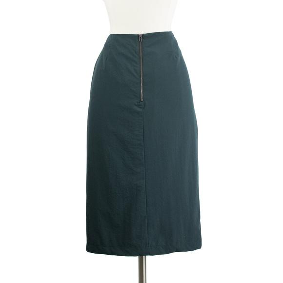 e265de7088d4 Eden Society Skirts | Teal Pleated Drape Pencil Skirt | Poshmark
